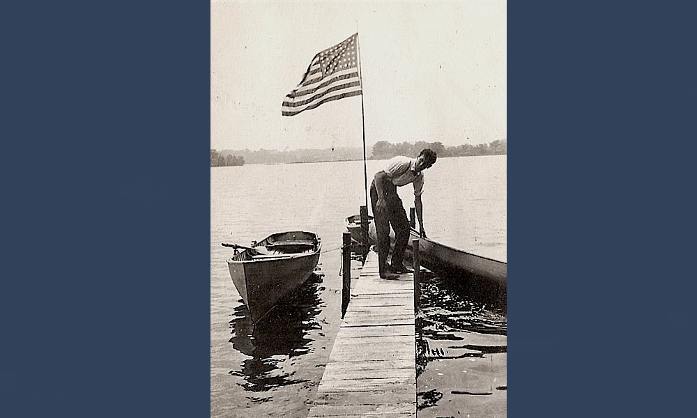 Cover pix-1915-Doc and Flag