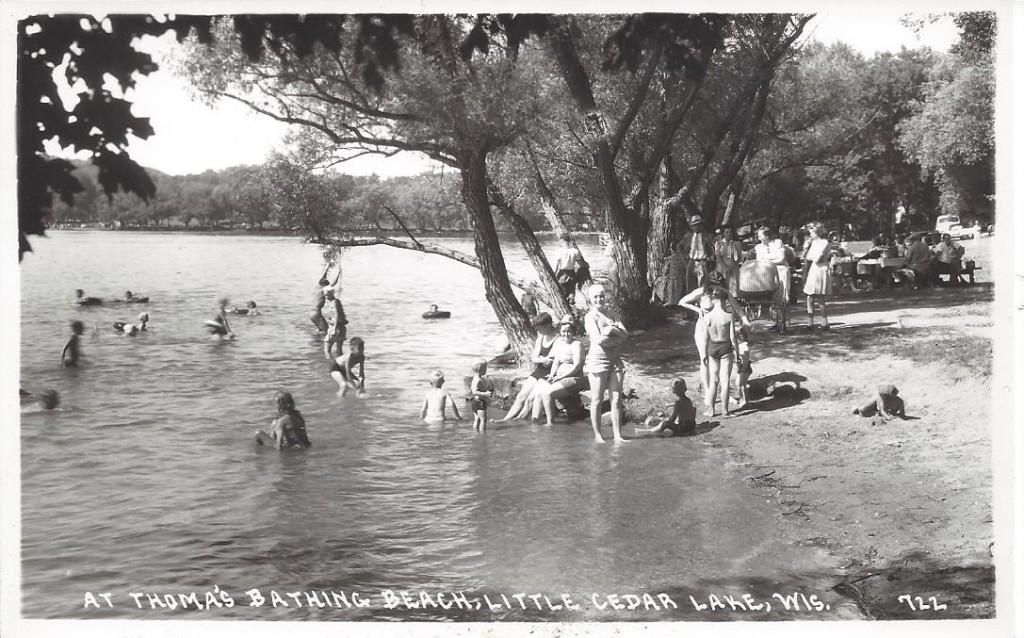 Thoma bathing beach 722